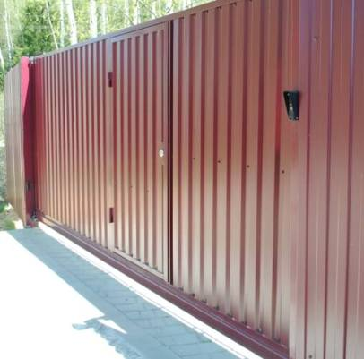 Пример с врезанной дверью