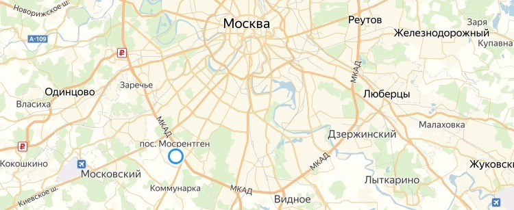 Карта крупно