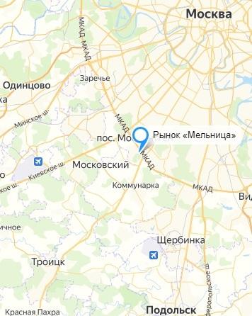 Карта мелко